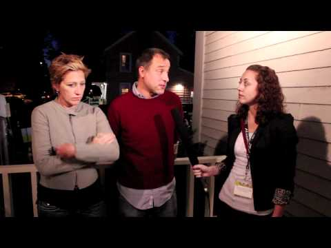 Interview with Edie Falco and Eric Mendelsohn at the 2010 Woodstock Film Festival