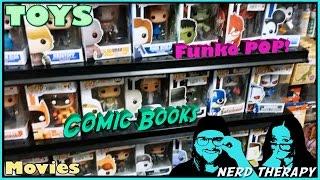 Toy Hunting, Funko POP Hunting, Comic Book Hunting, DVD Hunting