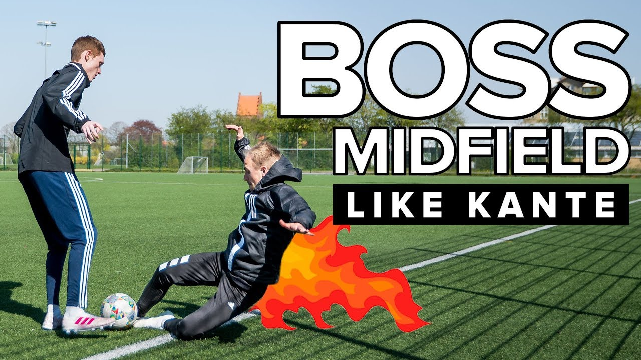 Download What you can do to BOSS MIDFIELD like Kanté | Learn football skills