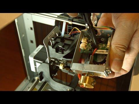 XYZprinting da Vinci 1.0/1.0A - Unclogged the Nozzle