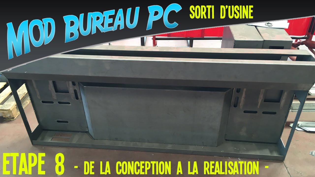 Mod Bureau PC tape 8 De la conception la Ralisation