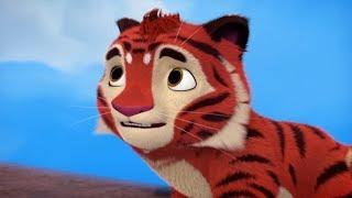 Лео и Тиг -  Орлиная скала - 9 серия - Познавательные мультфильмы для детей и взрослых