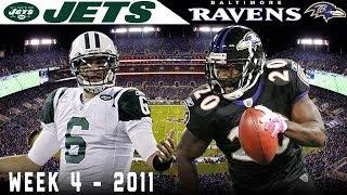 A Weird One on Sunday Night! (Jets vs. Ravens, 2011)