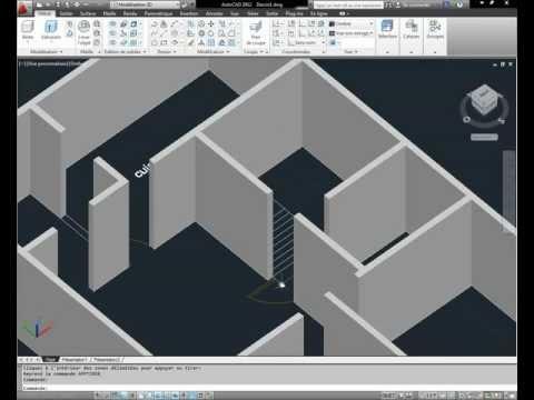 Dessiner un plan de maison avec autocad 39 39 compl te 39 39 doovi for Architecte 3d tutorial