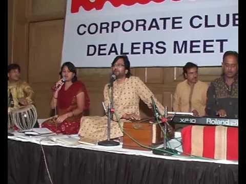 1 Ganesh Vandana & Itni Shakti Hame Dena Data Pradeep Srivastava & Suman Sing At Hotel Taj,Lucknow On 21 5 2010