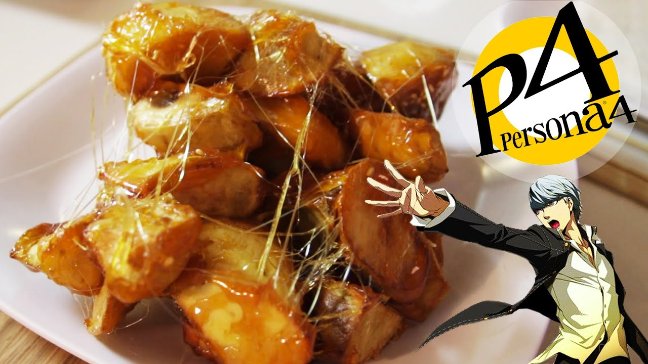How to make candied sweet potatoes from persona 4 feast of how to make candied sweet potatoes from persona 4 feast of fiction s4 ep8 youtube forumfinder Images