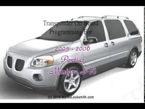 2005 to 2006 pontiac montana sv6 key programming guide youtube rh youtube com 2006 pontiac montana sv6 owner's manual 2006 pontiac montana sv6 owner's manual