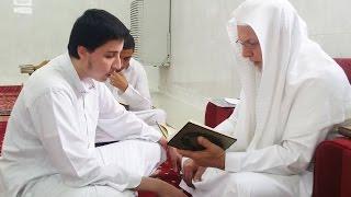 يزن هندية من طلابي في الصف 2ث في مجمع الملك عبدالله التعليمي يختم اليوم كتاب الله حفظاً 6-8-1438