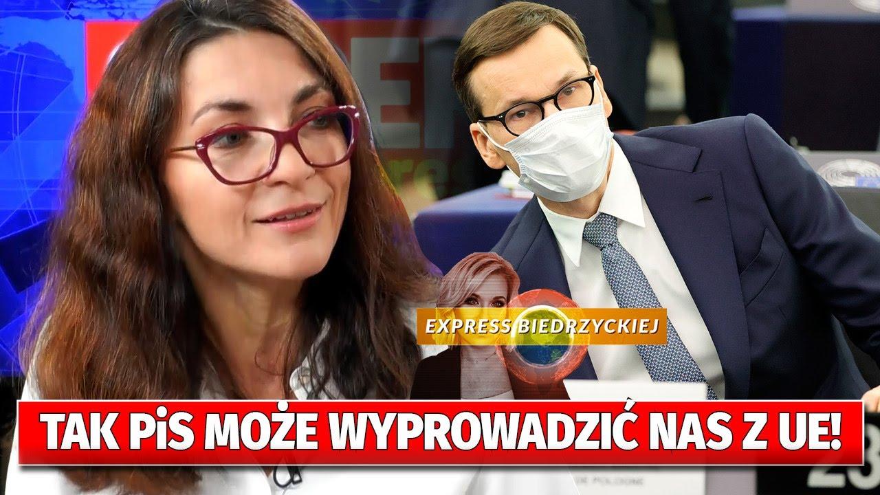 To PROSTA droga DO WYJŚCIA z UE! Mieńkowska-Norkiene UJAWNIA: PiS NIE POTRZEBUJE referendum