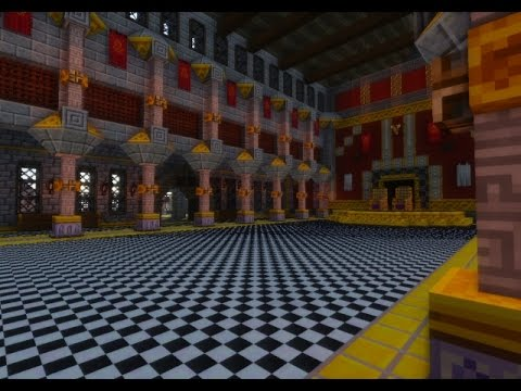 Minecraft Castle Rooms Minecraft Castle Map Wallpapers