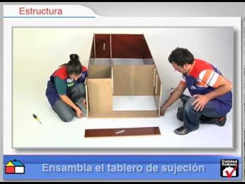 Closet 3 Puertas 2 Cajones 83x47x182 Caoba Youtube
