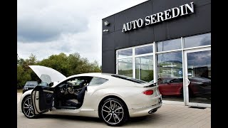 (2018) FIRST EDITION - Bentley Continental Gt + Soundcheck | AUTO SEREDIN GERMANY