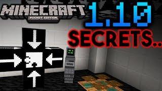 MINECRAFT PE 1.10 Secrets (11 Total)