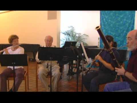 Quatuor a vents,  Jean Francaix , Wind Quartet