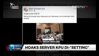 Video Hoaks Server KPU Di-setting Berawal dari Rapat Relawan Prabowo-Sandi, Begini Kronologinya...