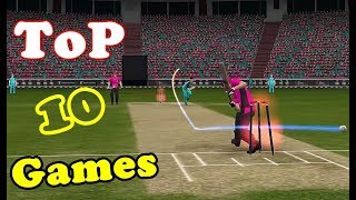 Top 10 Best Mobile Cricket Games for Android till 2018 ...