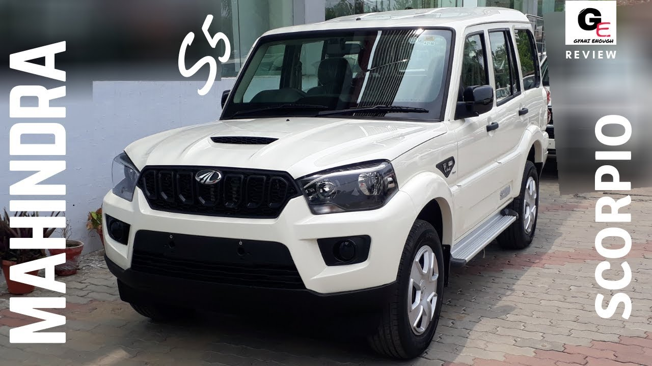 Mahindra Scorpio S5 Most Detailed Review Price Features Specifications