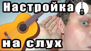 Настройка гитары. Как настроить гитару. Научиться играть на гитаре. Школа, курсы, уроки. Чебоксары(Как настроить гитару на слух. В этом идео я не покажу, как настроить гитару тюнером. Видео для новичков. Гита..., 2015-12-06T21:13:01.000Z)