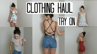 Try On Clothing Haul | Fashion Nova