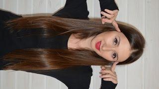 видео Уход за длинными тонкими волосами