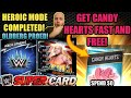 HOW TO GET VALENTINE'S CANDY / CARDS FAST! HEROIC RING DOMINATION COMPLETE! Noology WWE Supercard S4