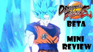 Dragon Ball FighterZ BETA (Switch) Mini-Review (Video Game Video Review)