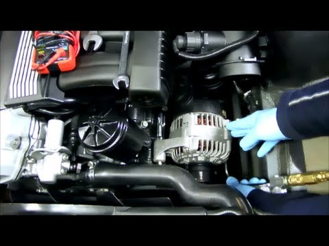 BMW E36 3 Series Alternator Fix - YouTube