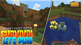 A NEW BEGINNING!! - MCPE 1.0 Survival Let