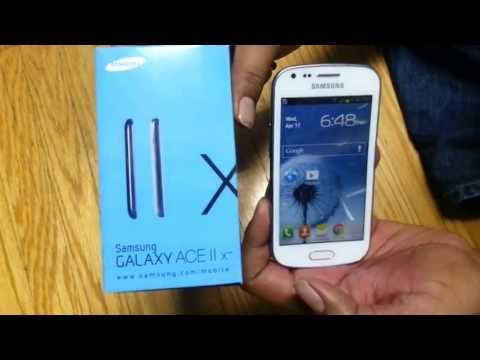 Unlock Samsung Galaxy Ace II x