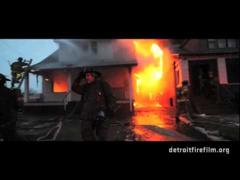 Random Movie Pick - Burn - The Detroit firefighter film - December 2011 Promo YouTube Trailer