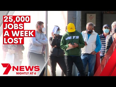 25,000 jobs going missing each week during Sydney's COVID lockdown | 7NEWS