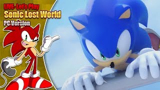 Let's play Sonic Lost World - Part 2 - LIVE - Saturday 2nd March 7pm GMT 2019