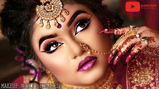 INDIAN BRIDAL MAKEUP * BENGALI BRIDE *HD MAKEUP *MAKEUP ARTIST KUMARESH
