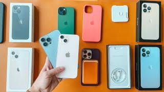 iPhone 13 | Unboxing de todos: 13, mini, Pro y Pro Max