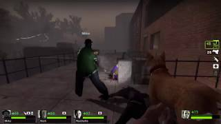 Left 4 Dead 2 PC - Charger Sends Me Flying To An Instant Death