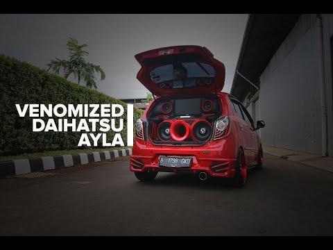 Modifikasi Mobil Daihatsu Ayla Venom