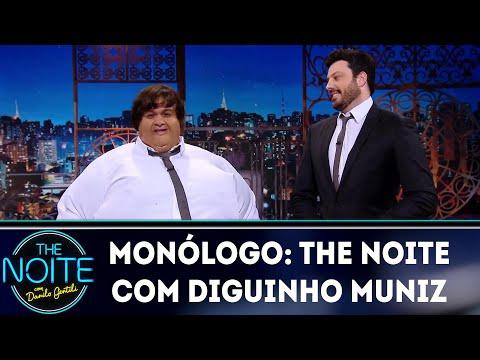 Monólogo: The Noite com Diguinho Muniz  The Noite 150419