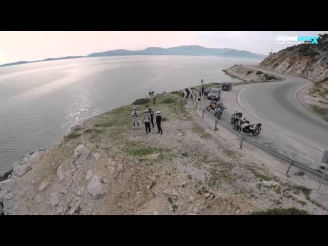 Routes 2 Travel - Astakos to Mytikas to Palairos, Greece air view