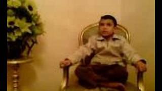 A Five years old boy recites surat Al-Qalam Thumbnail