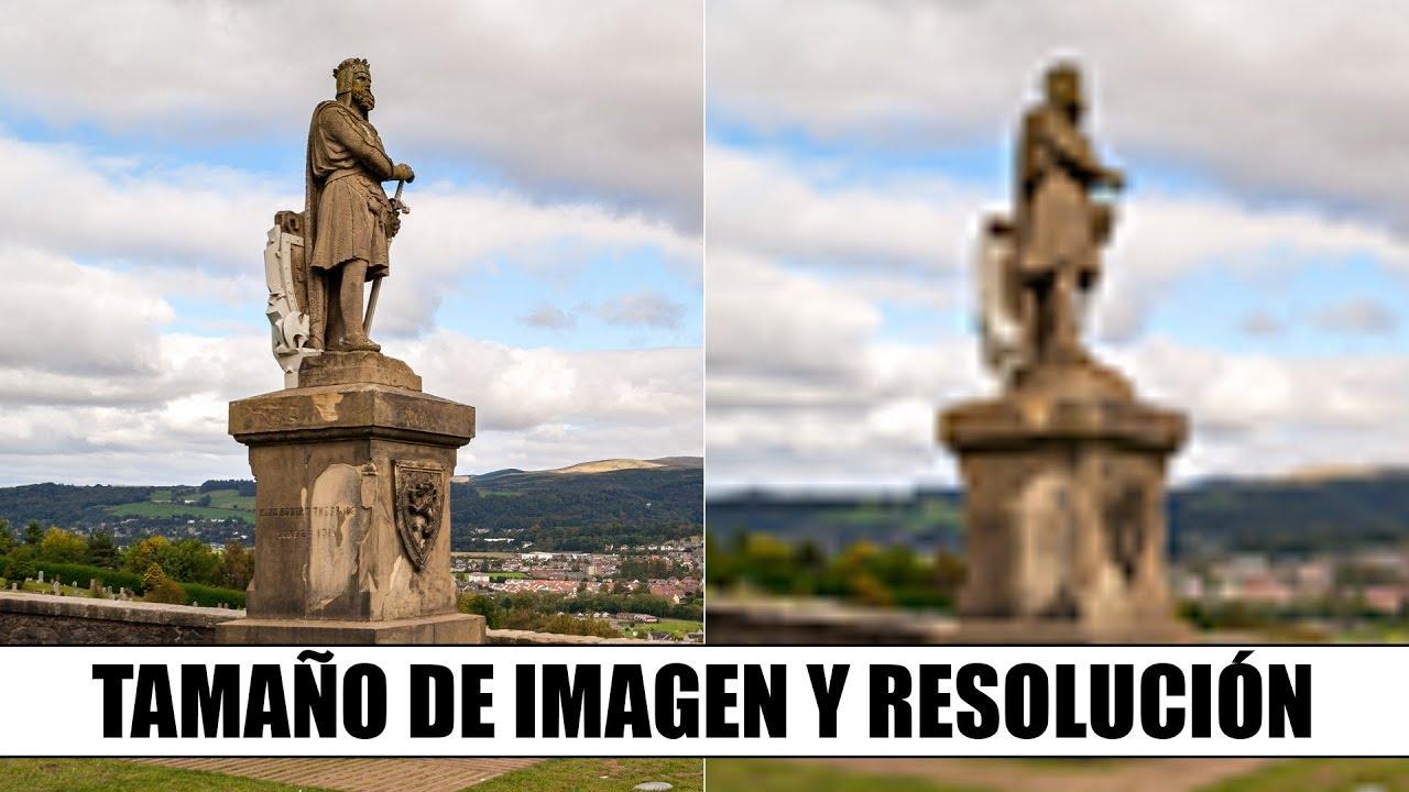 Resolucion para imprimir photoshop