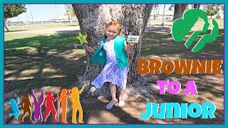 Bridging From A Brownie To A Junior!   VLOG #166