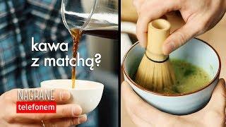 Test kawy z zieloną herbatą Matcha. Czajnikowy.pl
