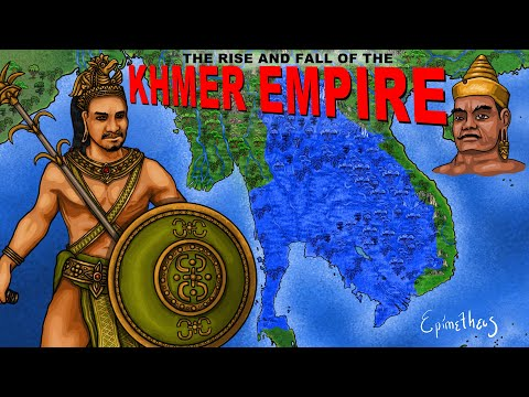 Rise & Fall of the Khmer Empire (History of Cambodia Summarized)