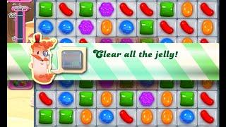 Candy Crush Saga Level 1326 walkthrough (no boosters)