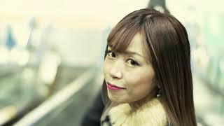 高橋莉江のクリスマスソング「ただ会いたい」のMV.