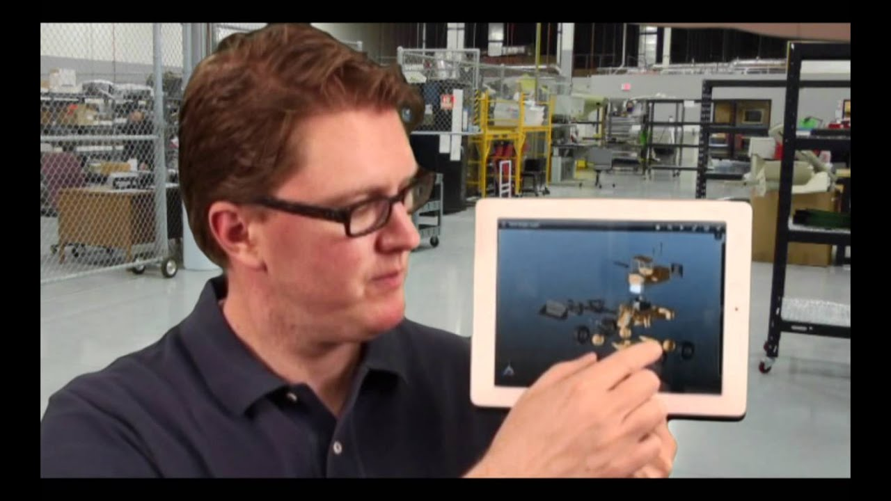 SolidWorks Introduces eDrawings for the iPad