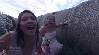 Barefoot Bride Walks Down The Aisle I Oklahoma Wedding Video