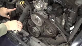 DIY - Porsche 996/997 accessory belt change
