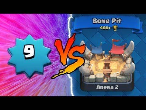 Clash Royale | LEVEL 9 TROLLING ARENA 2!! | Insane Clash Royale Trolling Lower Levels!
