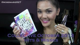 Collective October 2013 Hits & Misses (Maybelline Waterproof, Fabuliner, Just Dance 2014) Thumbnail
